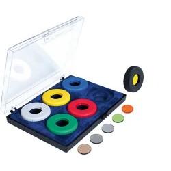 Juego de filtros para iris 6 colores