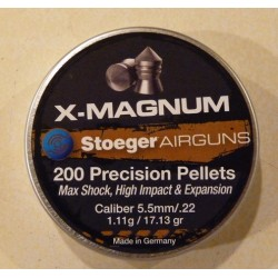 BALINES STOEGER X-MAGNUM 5,5mm/22