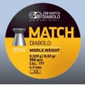 Balines JSB Match Diabolo 4.5mm(4,49)