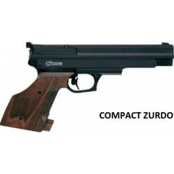 Pistola Aire Comprimido Gamo Compact 4,5mm ZURDO
