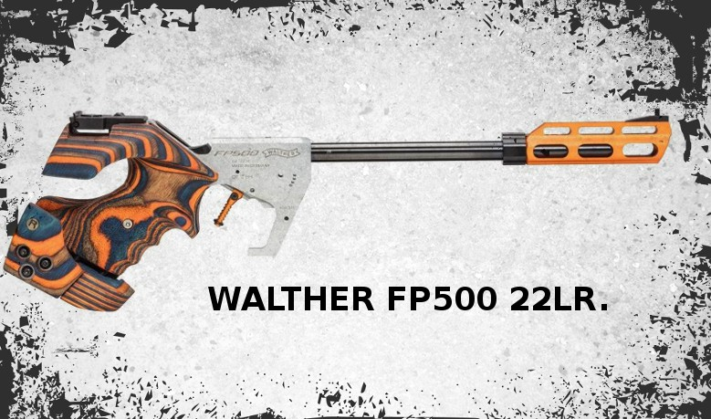 Walther fp500 22lr.