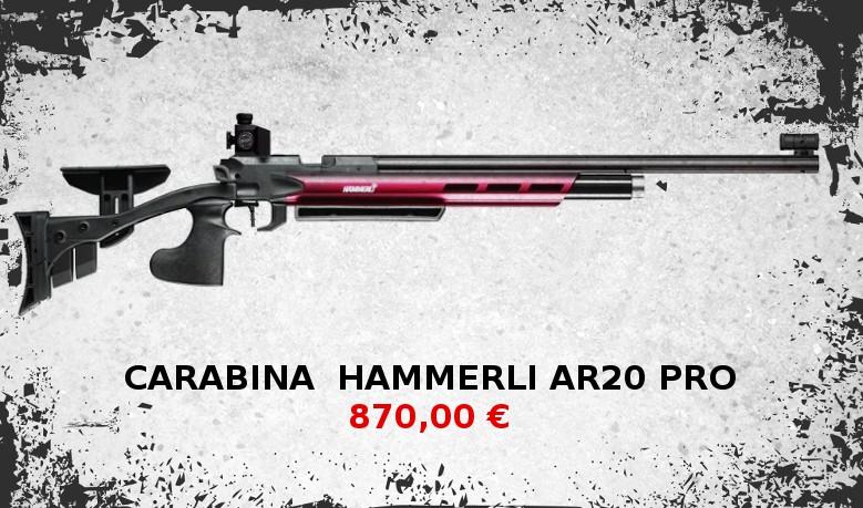 Hammerli ar20 pro rojo
