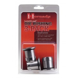 PACK 3 DIE BUSHINGS HORNADY