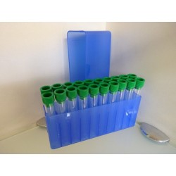 Caja 20 tubos plastico dosificadores