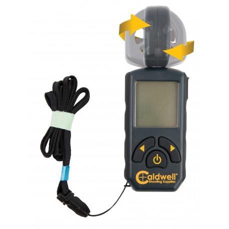 Medidor de velocidad de viento Caldwell giratorio
