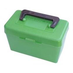 Caja MTM para munición de arma larga con asa