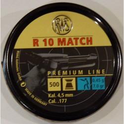 BALINES RWS R-10 4,50 LATA 500und. PISTOLA