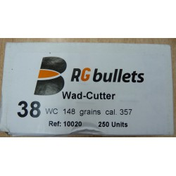 Plomos RG Bullets 38WC 148grains