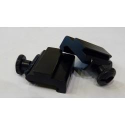 Adaptador de rail de Weaver/Picatinny a 11mm.