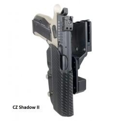 Funda BLACK SCORPION para CZ Shadow II Carbon Fiber Pro Competition