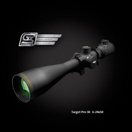 Visor SHILBA Target Pro 30 6-24x50