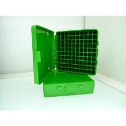 Caja MTM verde 100 cartuchos P-100-45