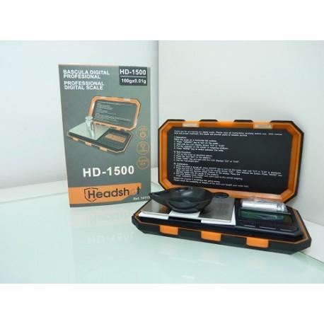 Báscula de precisión Headshot HD-1500