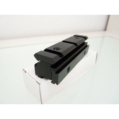 Adaptador rail de 11mm a Weaver/Picatiny