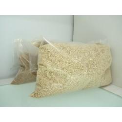 Granulado abrillantador/limpiador maiz