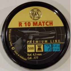 BALINES RWS R-10 4,49 LATA 500und. PISTOLA
