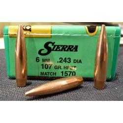 PUNTAS SIERRA 6mm(243) MATCH