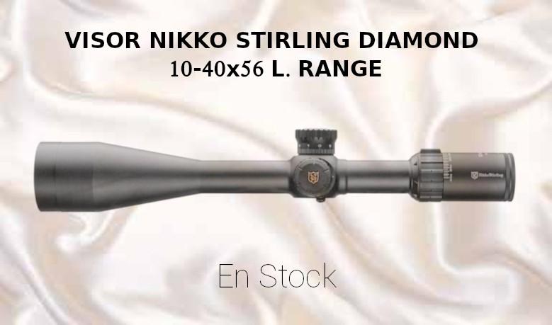 Visor Nikko Stirling DIAMOND 10-40x56 L.Range