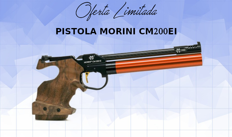 PISTOLA MORINI CM200EI