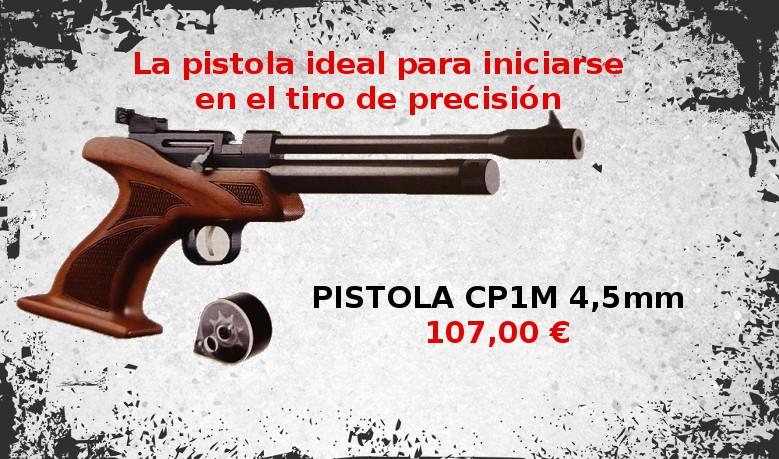 Pistola CP1M 4.5 mm