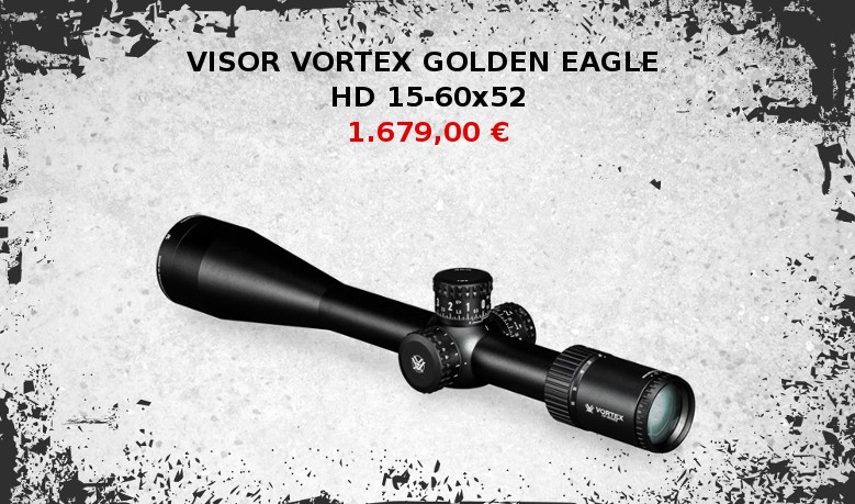 Visor VORTEX Golden Eagle HD 15-60x52