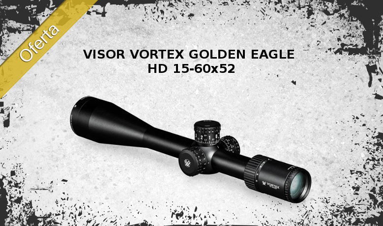 Visor VORTEX Golden Eagle HD 15-60x52